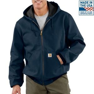 Carhartt Thermal-Lined Duck Active Hoodie Jacket L